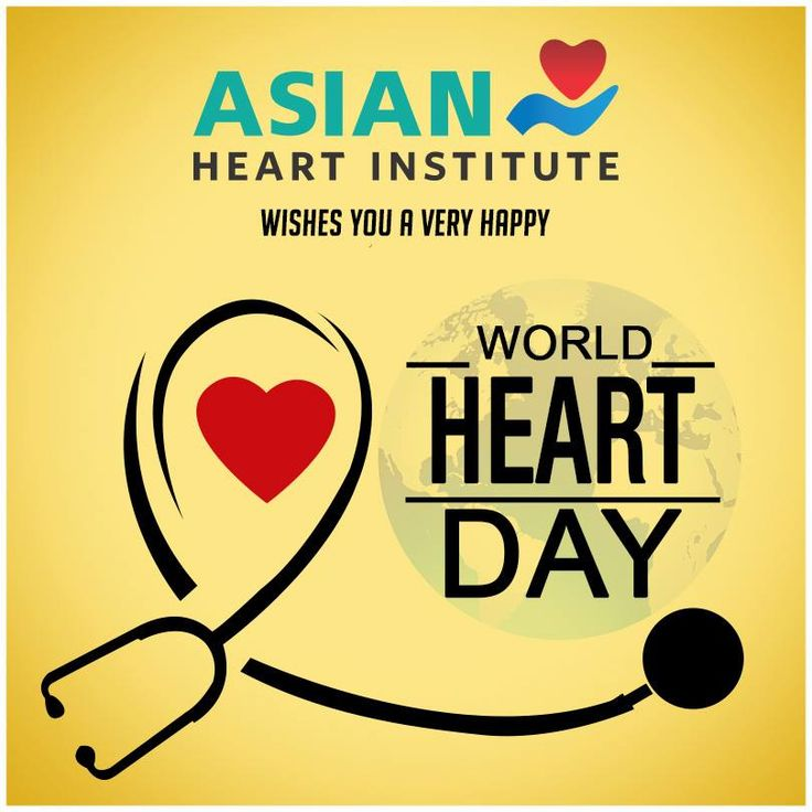 On this World Heart Day, let's pledge to lead a healthy life for a happy heart! Happy #WorldHeartDay :) #AsianHeartInstitute