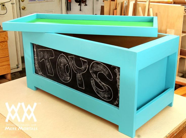 Make this toy box to raise money to fight cancer | Woodworking for Mere Mortals