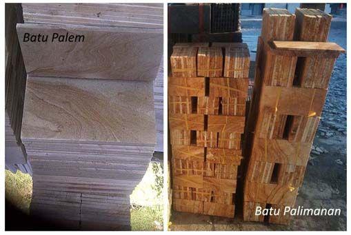 Jenis Batu Alam Cirebon
