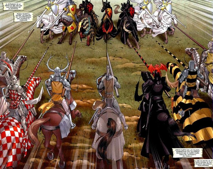 El Gran Torneo de Prado Ashford, en la novela El Caballero Errante