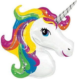 Unicorn Balloon, Jumbo Balloon, Baby Shower,  Birthday Balloon, Rainbow, Large Balloon, Happy Birthday, Foil Balloon by ButtercupBlossom on Etsy https://www.etsy.com/listing/251083844/unicorn-balloon-jumbo-balloon-baby