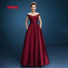 2017 New arrival elegante vestido de festa vestidos de noite de cetim Vestido de Festa lace-up barco-neck vestido grátis grátis(China (Mainland))