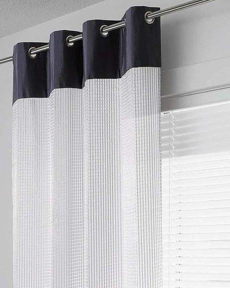 Las 25 mejores ideas sobre cenefas para cortinas en for Cortinas para salon blanco y gris