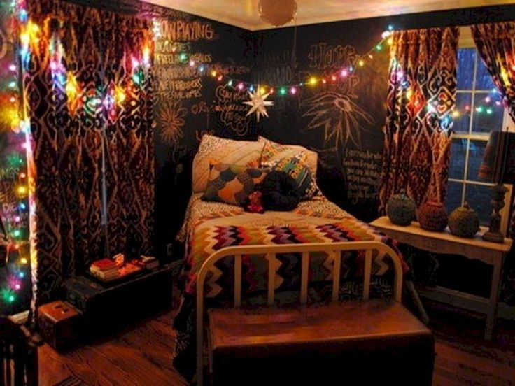 66 cute diy hipster bedroom decorations ideas - Indie Bedroom Ideas