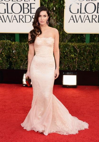 Megan Fox, de Dolce & Gabbana.    GETTY