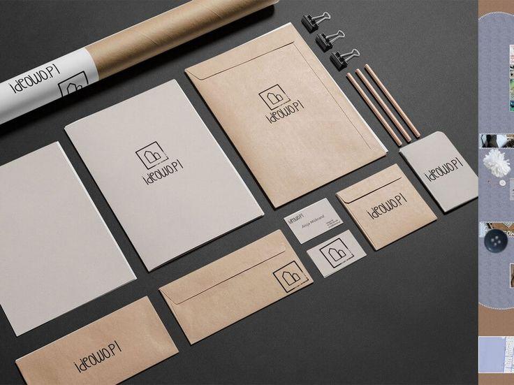 Pełna identyfikacja marki Ideowo. #marketing #reklama #identyfikacja #tworzenie