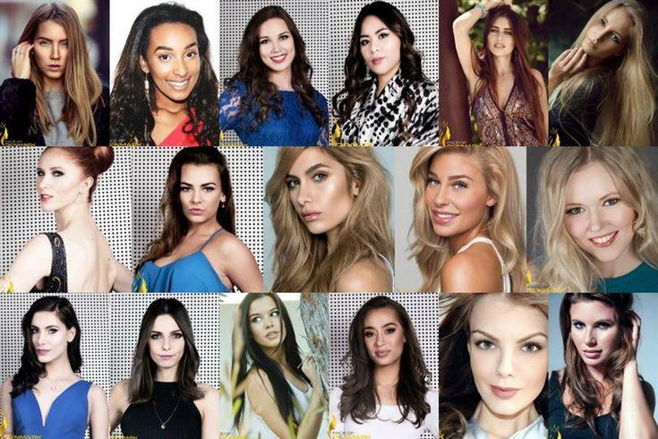 Miss Universe Denmark 2016 Meet the Finalists