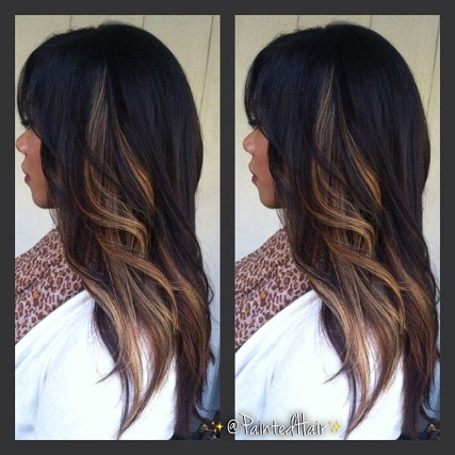 Best 25 highlights underneath hair ideas on pinterest blonde shareig choosebrisa no filter second session painted hair carmel blonde panels with long pmusecretfo Choice Image