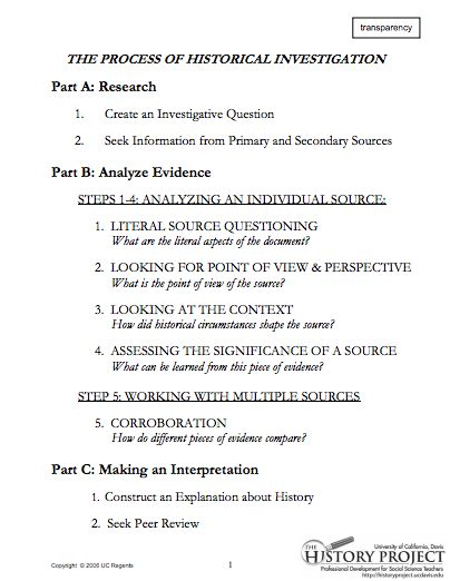 an analysis of source Secondary source analysis assignment: for this assignment, you must write a 2-3 page (400 to 600 word) review essay on either a book or film that examines some.