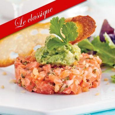 Tartare de saumon épicé et guacamole - Recettes - Cuisine et nutrition - Pratico Pratique
