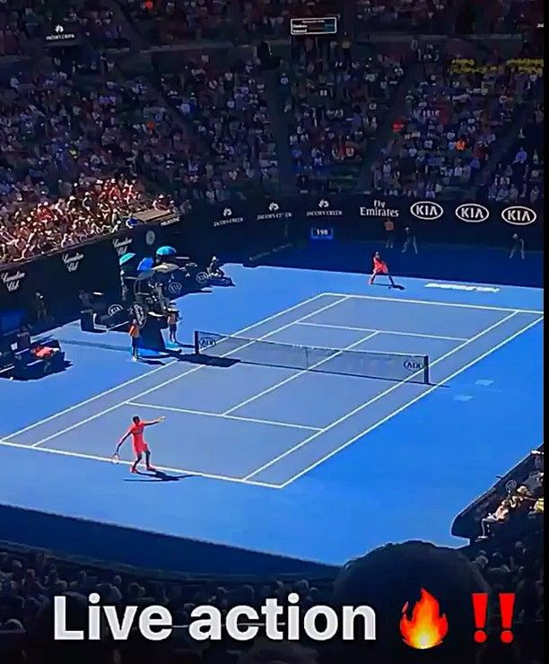 Squeaky Clean: Dimitrov V. Edmund Aus Open 2018... Comment below who wins a grand slam first?!  @grigordimitrov @kyle.edmund @australianopen @manu.major.tennis . . . . . . . . . #grigordimitrov #grigor #dimitrov #kyleedmund #australianopen #melbourne #melbournelife #rodlaverarena #courtside #tennisvideo #tennisfan #tennisupdate #tennisshoes #nikecourt #pinkpanther #tennisplayer #bulgaria #uk #wilson #prostaff #grandslam #whosnext #rodlaverarena #squeakyclean #rodlaver #l4  #f4 #atp #tennis