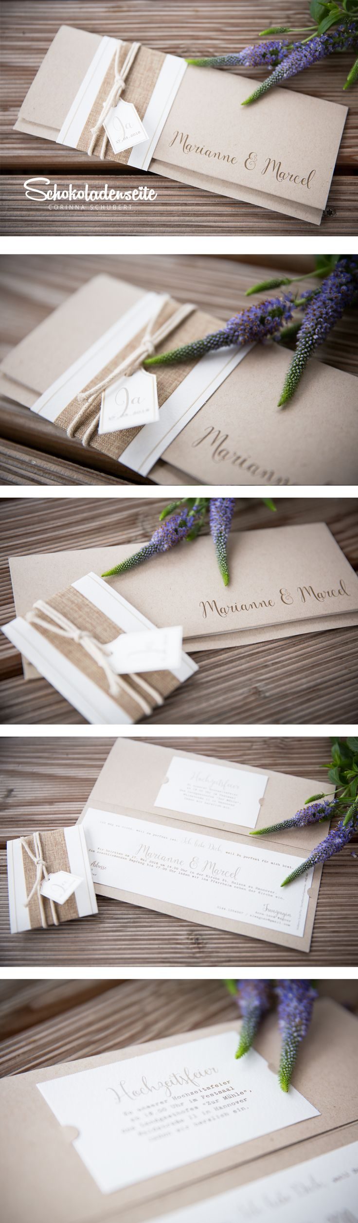 Ihr Mäuse, Hier Eine Unserer Bezaubernden Kraftkartonkarten. U003c3 Mit Vielen  Kleinen Details, · Goldene HochzeitHochzeit DekoEinladung ...