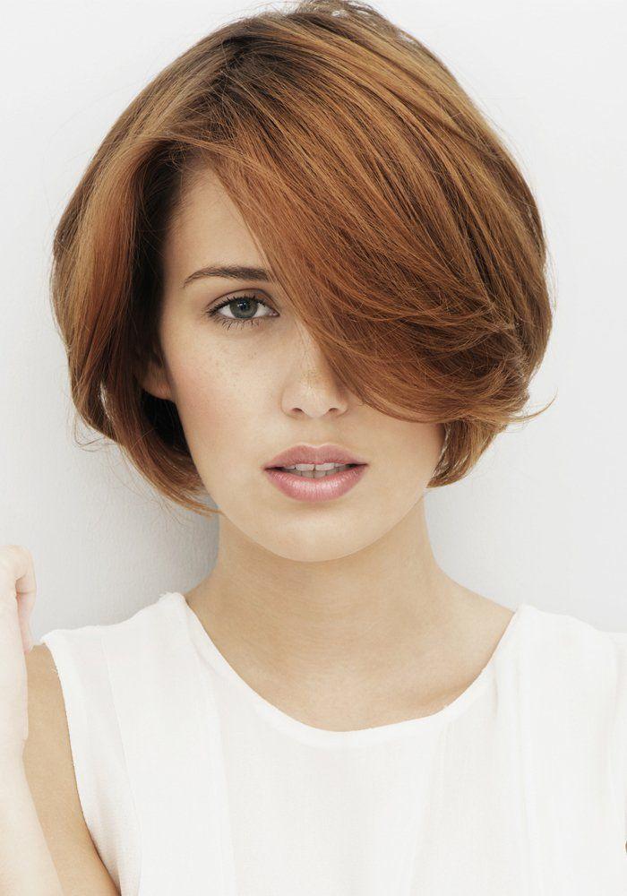 1000 id es sur le th me coupes de cheveux au carr arrondi sur pinterest coupes de cheveux - Coupe courte carre ...