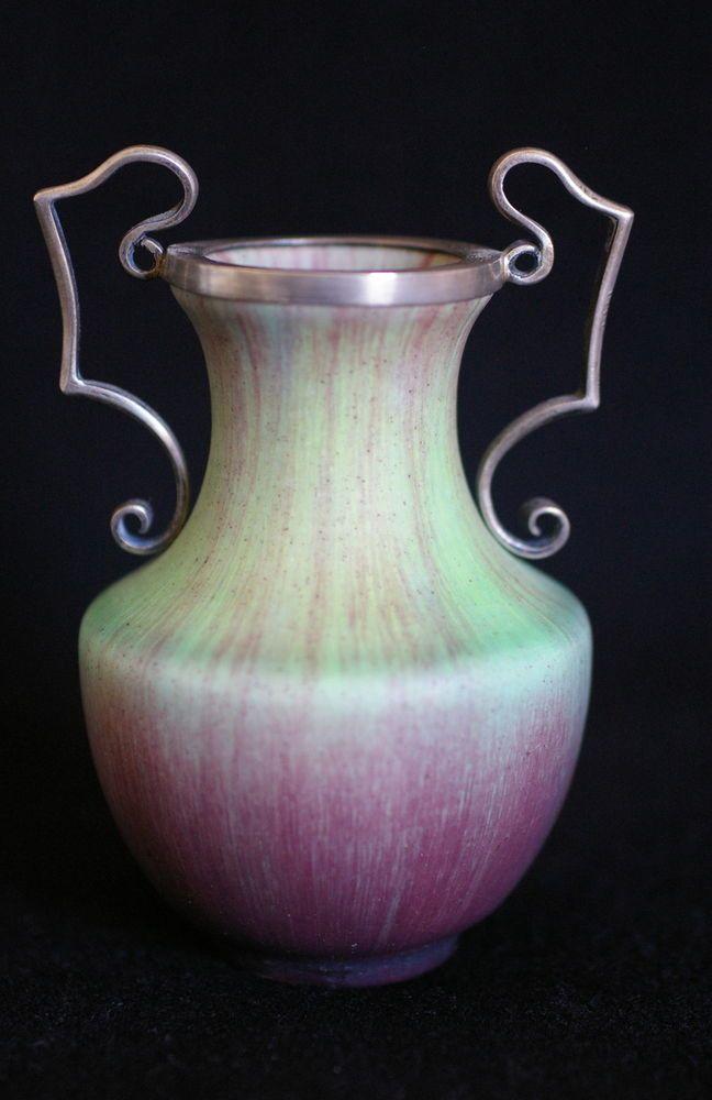Eugene baudin petit vase art nouveau 1900 c ramique - Gres ceramique ...