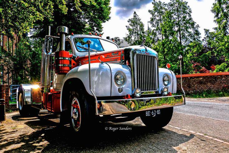 Mack Truck by Roger Sanders