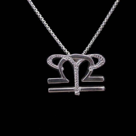 7 Aries and Libra Silver Unity Pendant by UnityDesignConcepts, $99.99