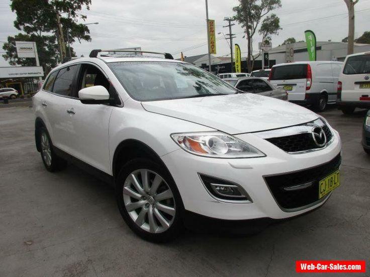 2010 Mazda CX-9 TB10A3 MY10 Luxury White Automatic A Wagon #mazda #cx9 #forsale #australia