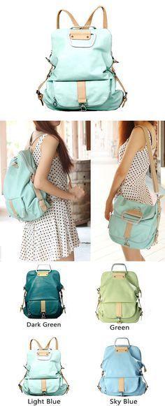 Unique Fresh Multifunction Backpack & Handbag & Shoulder Bag only $42.99