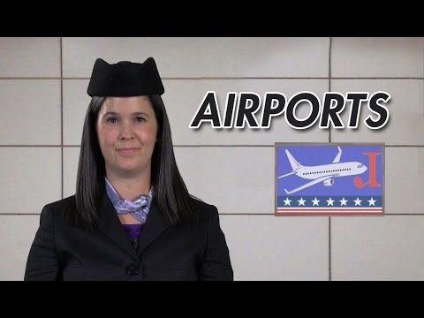 English Conversation – Checking in at an airport – American English - YouTube
