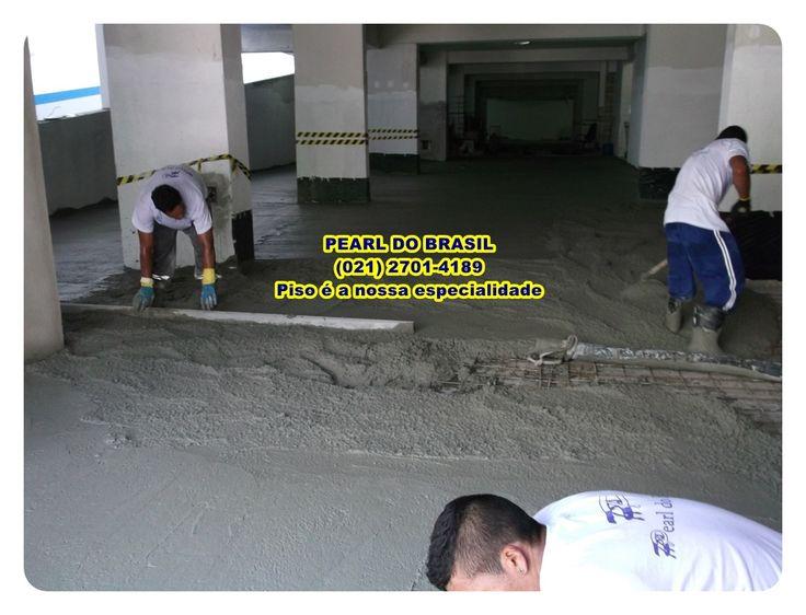 Concreto Polido, aplicação de piso polido em piso de garagem de condomínio.