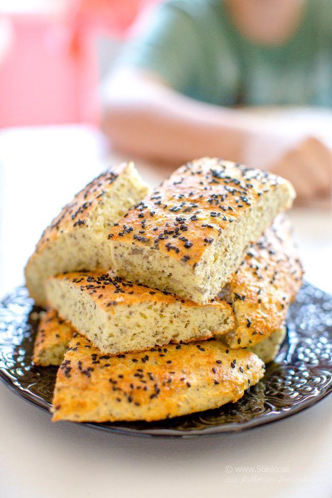 Kesbröd Cottage Cheese Bread