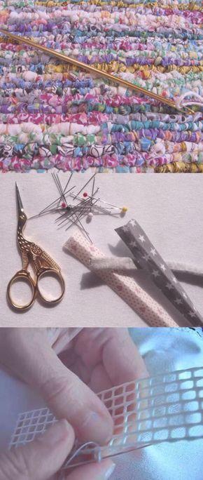 Descubre la moda del Locker Hooking | http://www.katia.com/blog/es/moda-trapillo-locker-hooking-cinta-lana-katia/