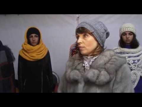 Дефиле Троицкой фабрики - ТВ репортаж