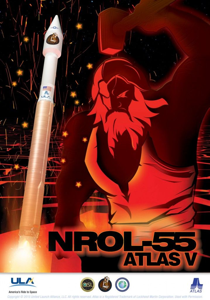 Making its second flight in less than a week, United Launch Alliance's Atlas V rocket has successfully deployed a National Reconnaissance Office primary payload (NROL-55) – and a host of smaller satellites – Thursday following a pre-dawn liftoff from Vandenberg Air Force Base. Liftoff was on schedule at 05:49 Pacific Daylight Time (12:49 UTC).