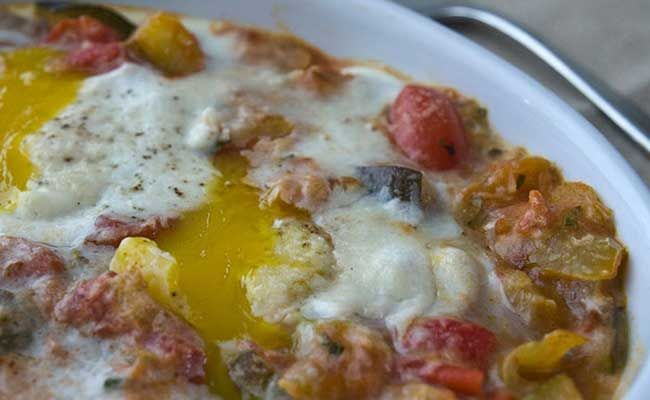 6 Ratatouille With Eggs Cheese Resep Telur Masakan