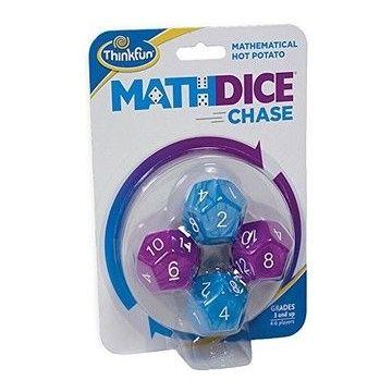 Math Dice Chase - logikai társasjáték 3 éves kortól - Egyszerbolt Társasjáték Webáruház