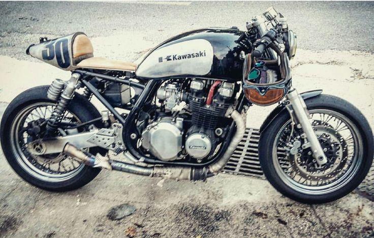 Cafe Racer Vintage 750 Kawasaki Zephyr Atelier Pianelli