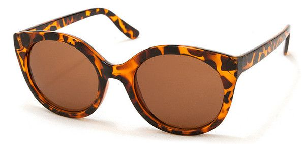 Beautiful, tortoise shell patterned sunnies. Larger frames to shield you from the sun and add a bit of glamour to your life!
