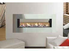double sided electric fireplace inserts | Double Sided Gas Fireplaces - Glass Fronted Balanced Flue and Open
