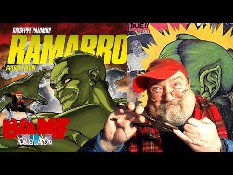 BAMF – Ramarro, il primo super-eroe masochista [di Giuseppe Palumbo]