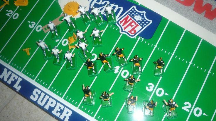 Tudor Electric Football Game NFL COWBOYS STEELERS Super Bowl