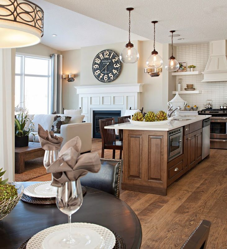 Traditional Open Concept Kitchen: 1000+ Ideas About Modern Traditional On Pinterest