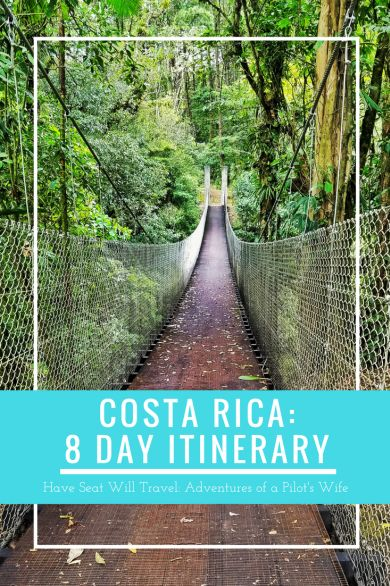 From gorgeous undeveloped beaches to the national parks dense with exotic plants and wildlife, Costa Rica is sure to be a trip you won't forget!