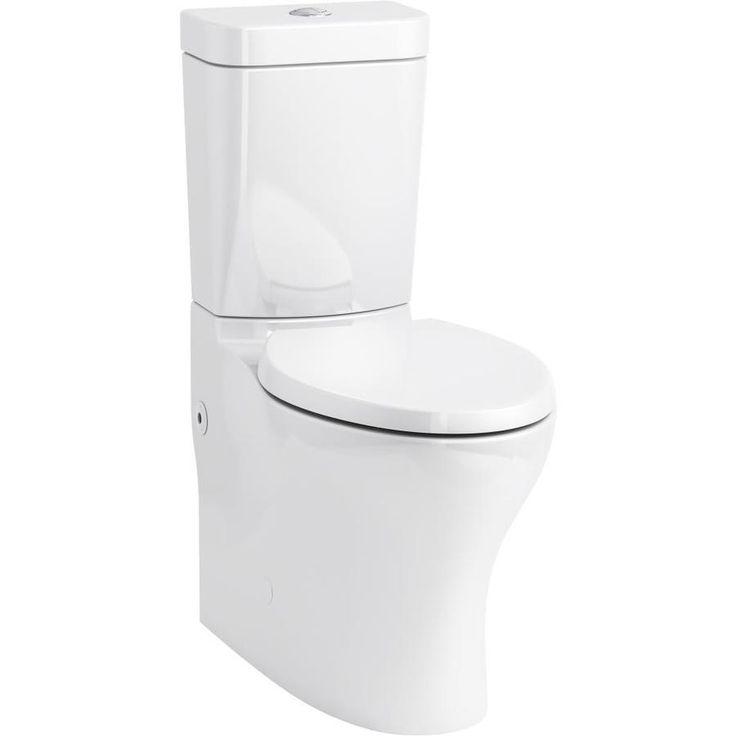 Kohler persuade white watersense dual flush elongated