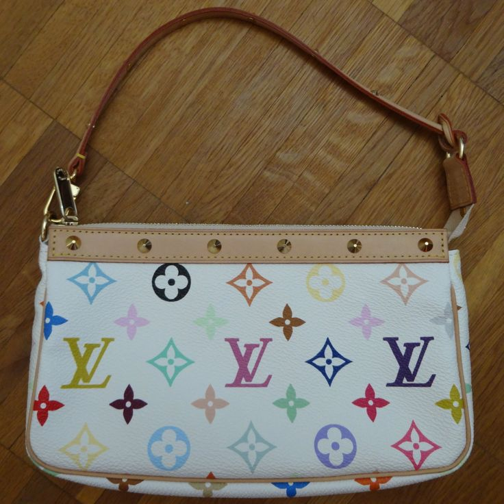 Louis Vuitton Multicolore white Pochette Accessoires :-)