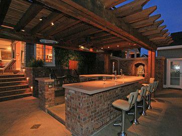 124 best bar ideas! images on pinterest | backyard bar, patio bar ... - Outdoor Patio Bar Ideas