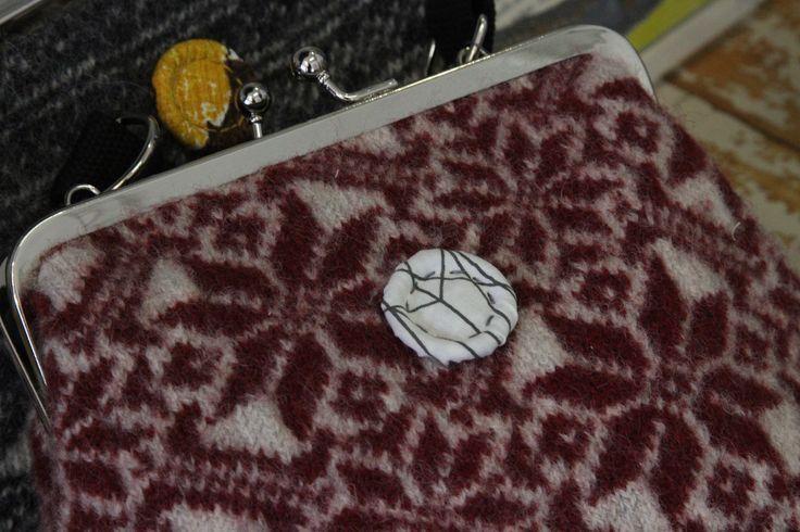 Wool bag, redesign by Willatar. jokiå design, Porvoo, Finland.