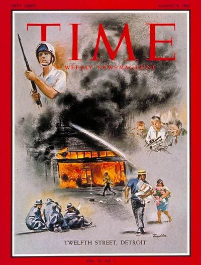 Detroit Race Riots Aug. 4, 1967  Not to be celebrated, but to be remembered. And understood.