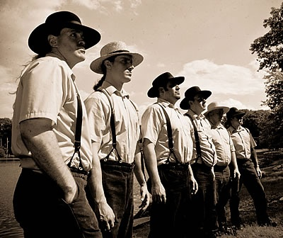 "In order to join the ranks of the exclusive ""Amish Militia"" Amish men must prove their abilities and ...."
