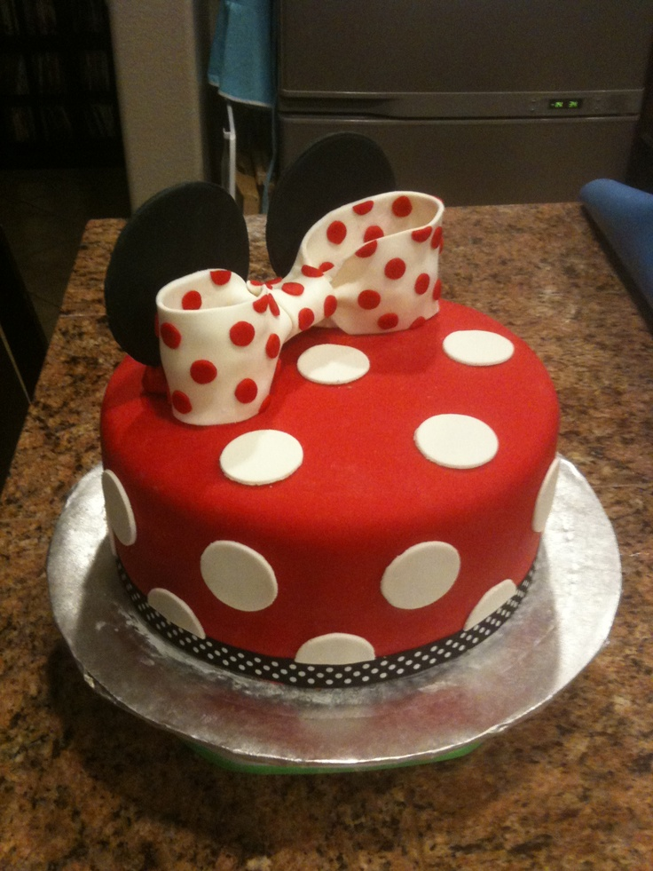 Mickey Mouse Cake Nd Birthday