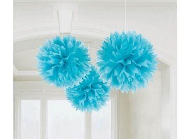 Aqua Blue Fluffy Decorations | Whish.ca