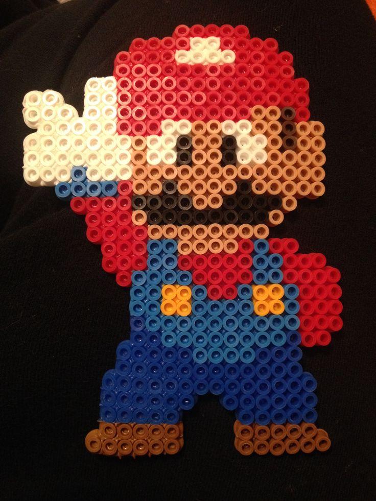 Mario perler bead