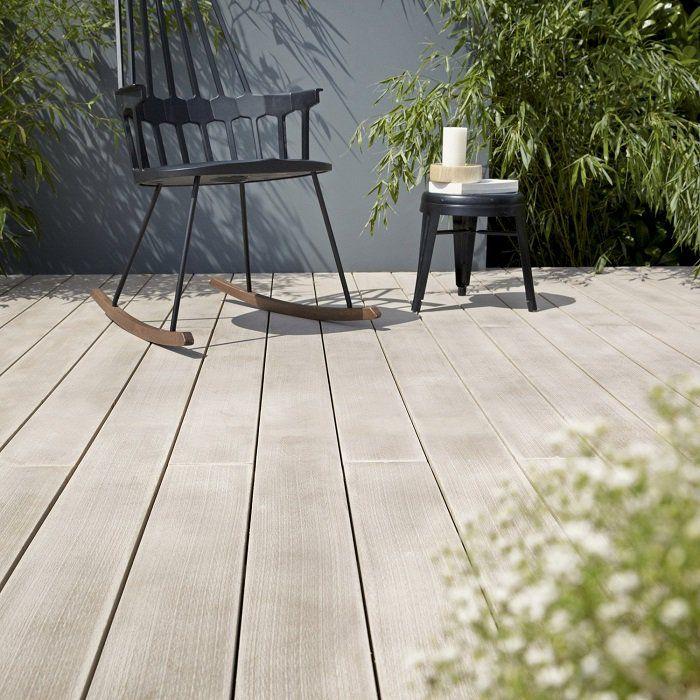 Planche Cosse De Riz Et Pvc Resysta Naturel Lame Bois Pour Terrasse Et Jardin Leroy Merlin Iziva Com Terrasse Jardin Terrasse Bois Idee Deco Loft