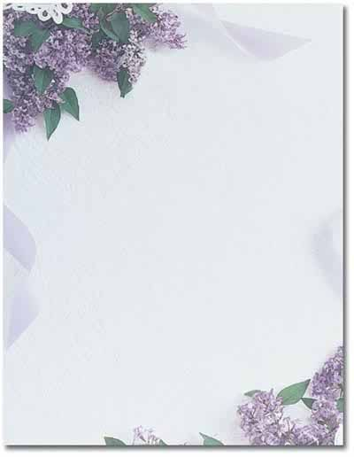 lilac theme paper 80 sheets 695 from great papers large quantity discount