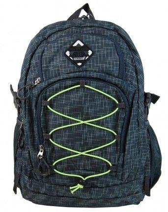 Velký batoh NEWBERRY do města / do školy HL0911 šedý - Kliknutím zobrazíte detail obrázku.