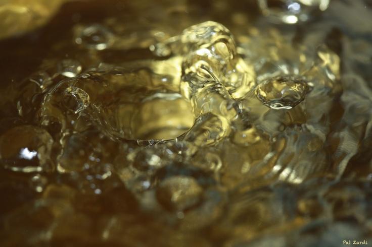 "Bronze Hole...""High Speed Photography"", by Pat Zardi"